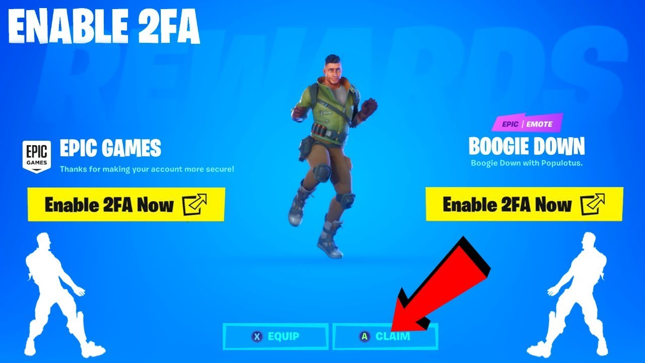 Fortnite 2fa enable 2fa