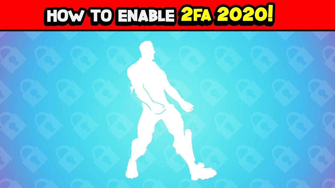 Get Fortnite 2fa